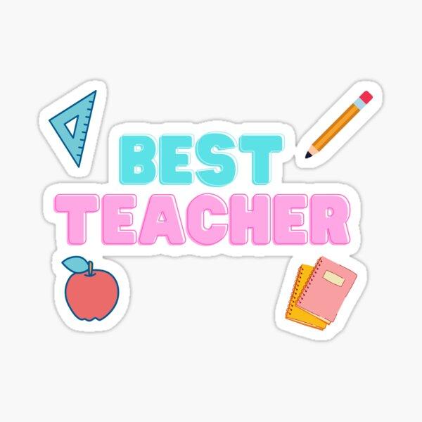 Best Teacher Sticker