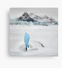 Iceberg Lagoon Canvas Print