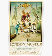 Vintage poster - London Museum Poster