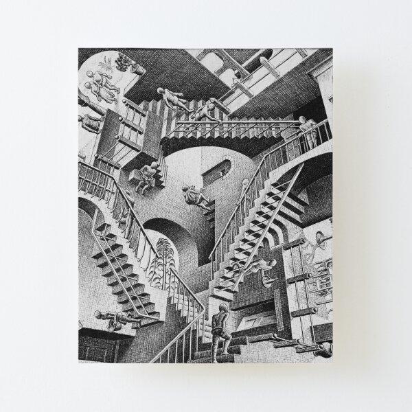 ESCHER Relativity (Stairs) Canvas Mounted Print