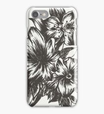 Floral in Ink iPhone Case/Skin