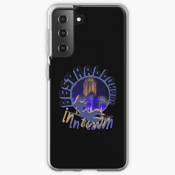 Best Halloween In Town Gift Sayings Samsung Galaxy Flexible Hülle