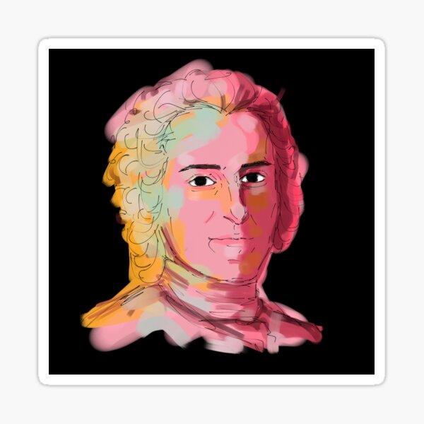 Jean-Jacques Rousseau Sticker