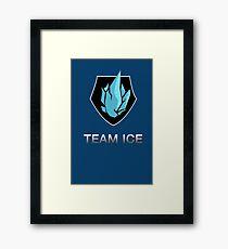 Team Ice Framed Print