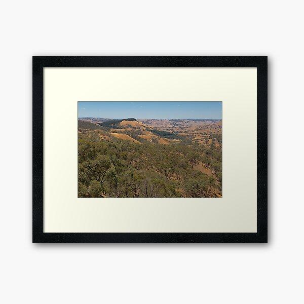 Murchison's Gap, Victoria, Australia Framed Art Print