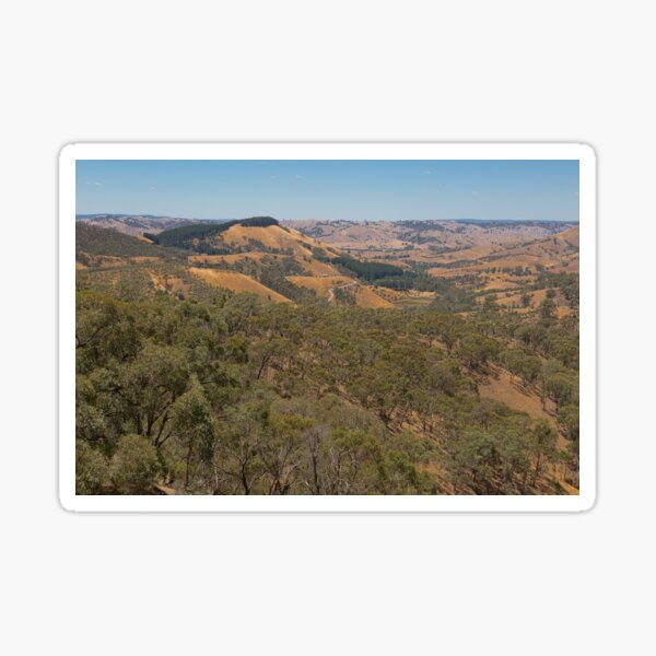 Murchison's Gap, Victoria, Australia Sticker