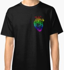 Rainbow Heart Classic T-Shirt