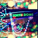 Love Tokyo Dome Colorful Psychedelic Heart Bokeh Lights  by Beverly Claire Kaiya
