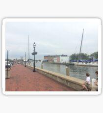 Downtown Annapolis Sticker