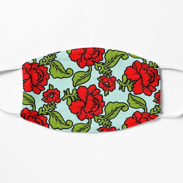 Red rose Flat Mask
