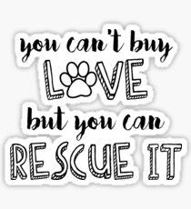 can't buy love Sticker