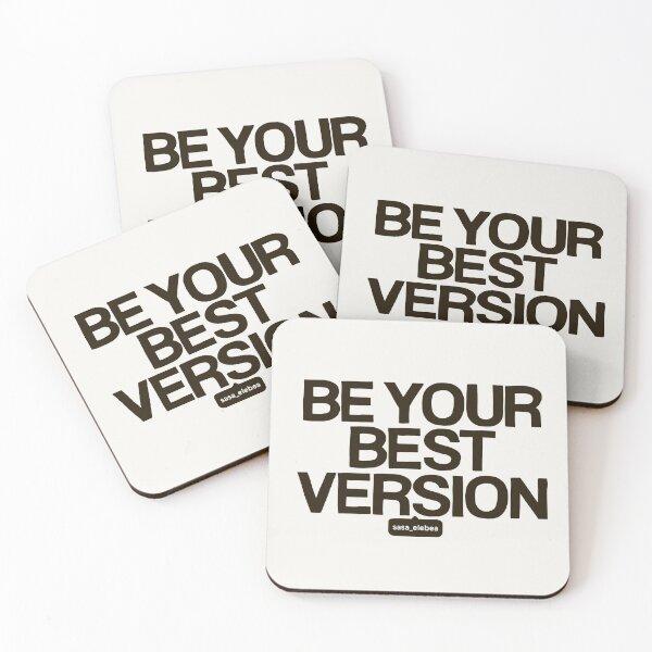 Best version by Sasa Elebea Coasters (Set of 4)