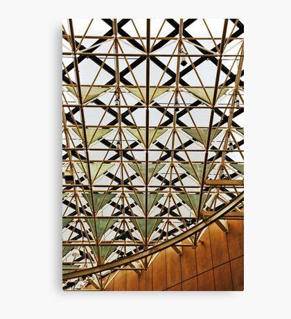 Geometric ceiling Canvas Print