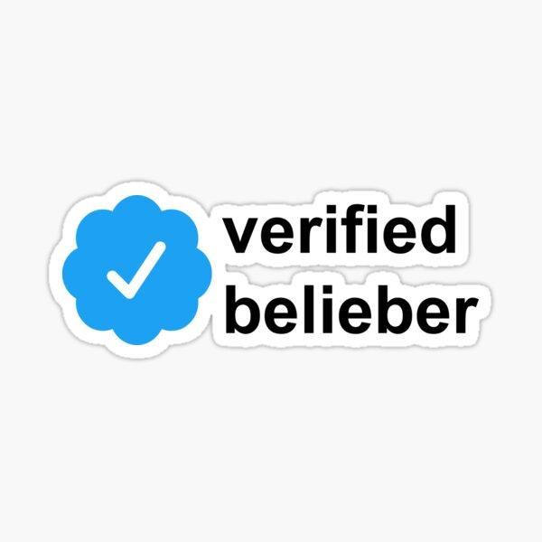 verified belieber  Sticker