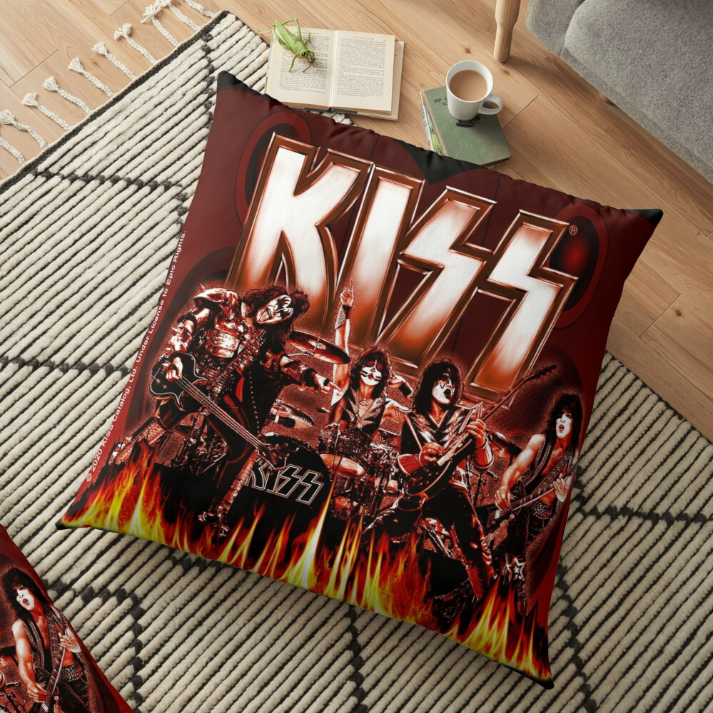 KISS Rocking It Out Floor Pillow