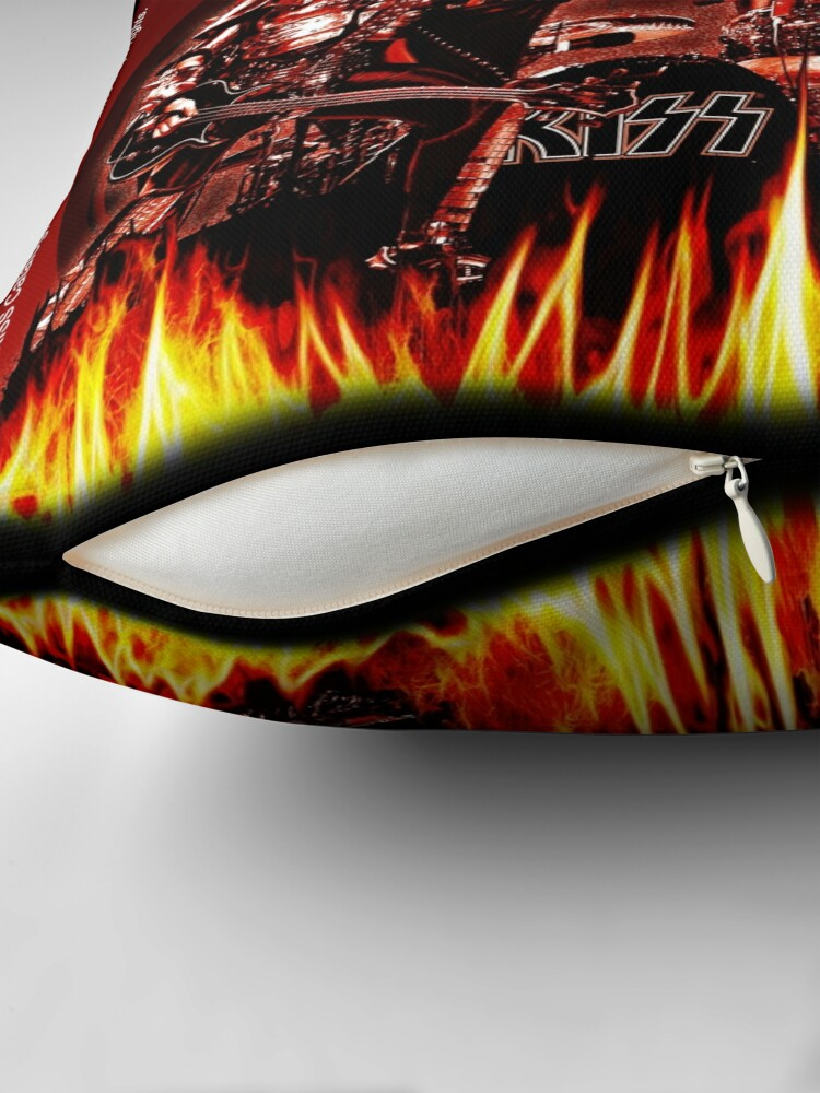 Alternate view of KISS Rocking It Out Floor Pillow