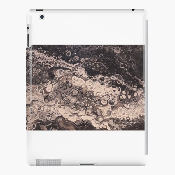 Bland and White hand painted acrylic iPad Snap Case