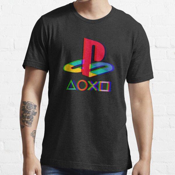 Botones de playstation x Camiseta esencial