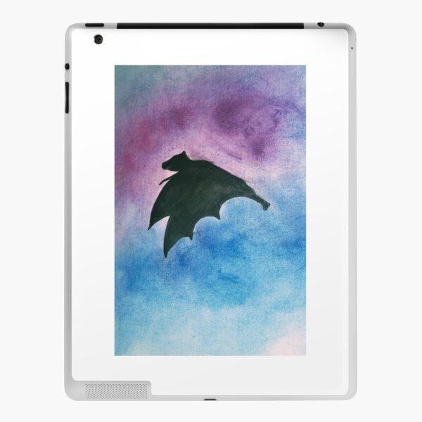 Bat in flight iPad Skin