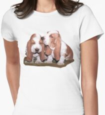 Just the Two of Us [actually Nicki and Sam larger pic] Women's Fitted T-Shirt