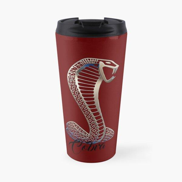 Cobra, Dark Red Travel Mug