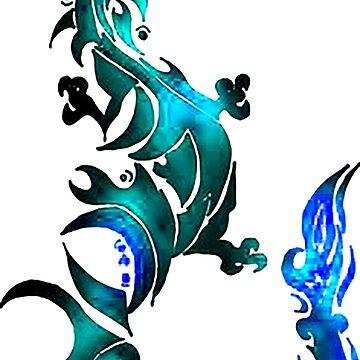 Legendary Dragon by umkarasu