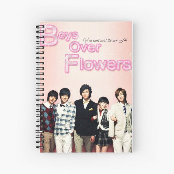 Boys Over Flowers Spiral Notebook