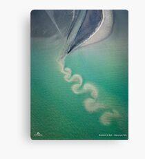 Ocean Swirl Canvas Print