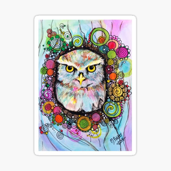 Willow the Owl Sticker