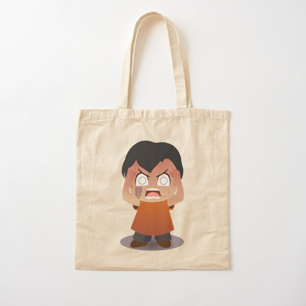RED DISAPPOINTED Cotton Tote Bag