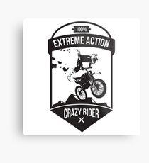 Extreme logo Metal Print