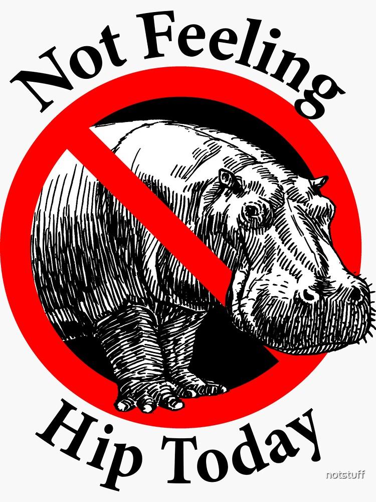 Not Feeling Hip Today - Hippopotamus by notstuff