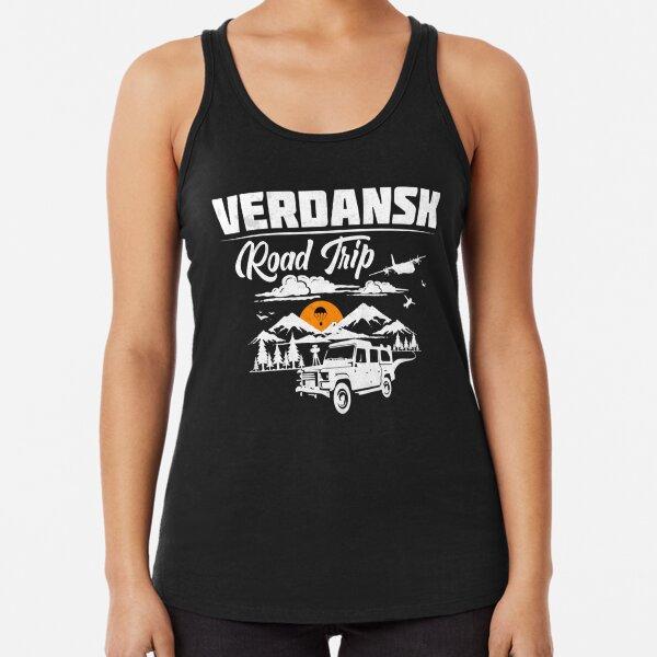 Viaje por carretera a Warzone / Verdansk Camiseta con espalda nadadora
