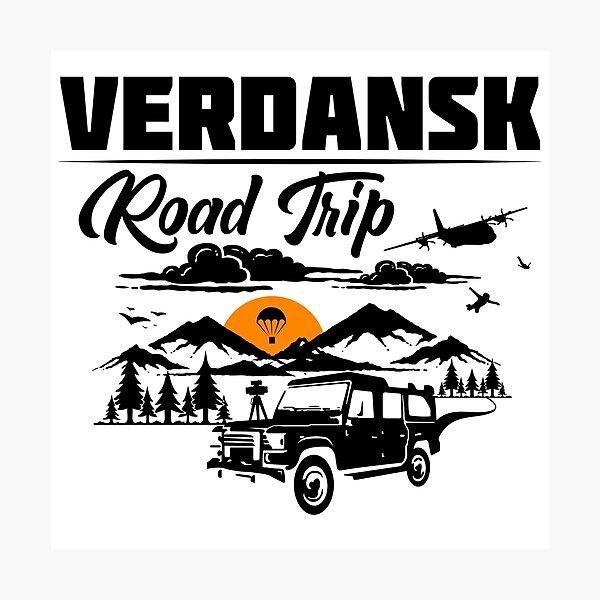 Warzone/Verdansk Road Trip Photographic Print