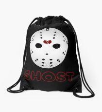 GHOST FACE 2 Drawstring Bag