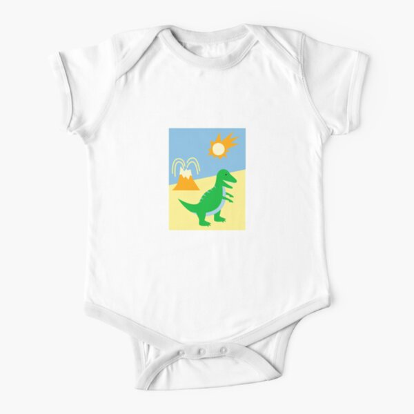 Short Arms Bigger Heart Short Sleeve Baby One-Piece