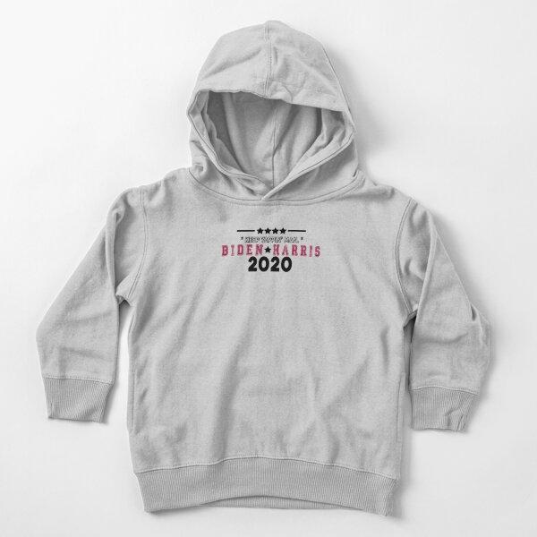 Keep Yappin Man Joe Biden Harris 2020 Toddler Pullover Hoodie