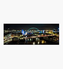 The Tyne Bridge Panoramic Photographic Print