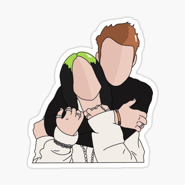 Billie and Finneas Sticker
