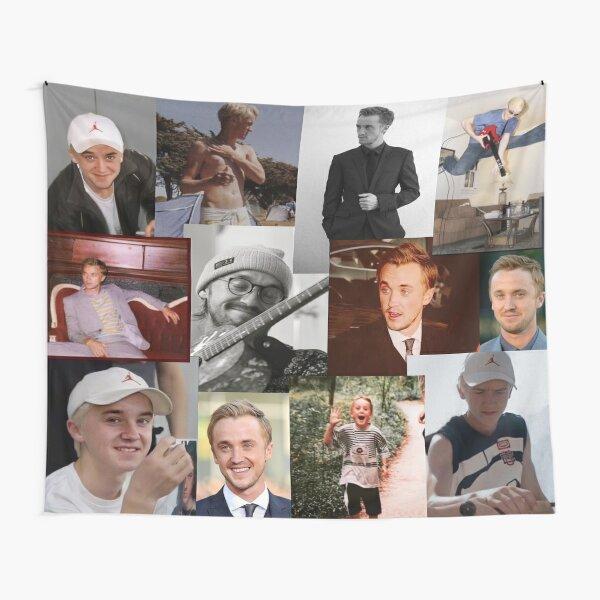 Tom Felton Collage Wandbehang