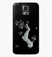 Cherry tree negative Case/Skin for Samsung Galaxy