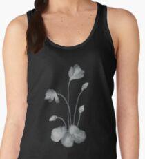 Ink flower negative Women's Tank Top