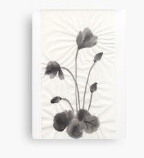 Ink flower Metal Print