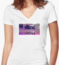 TECHER TEAM OF SOFEEZ Women's Fitted V-Neck T-Shirt