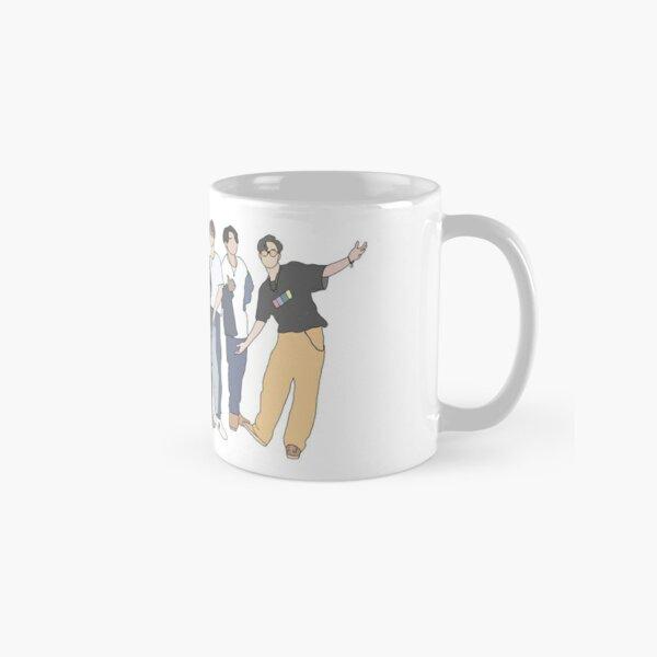 Groupe de garçons BTS Style K-Pop Mug classique