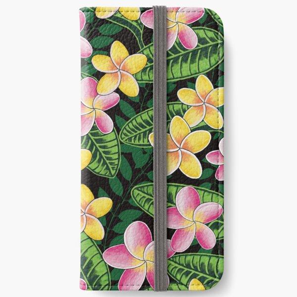 Plumerias in Paradise iPhone Wallet
