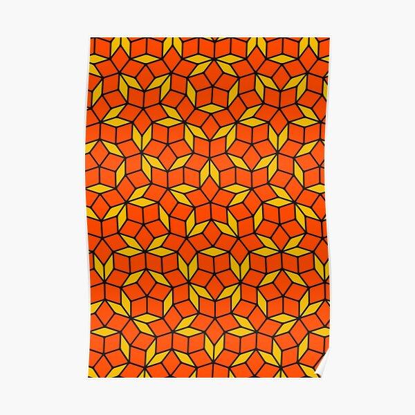 Penrose Tiling Poster
