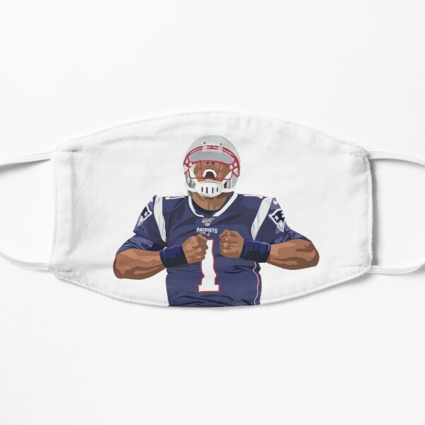 Cam Newton New England Patriots Tully Visuals Mask