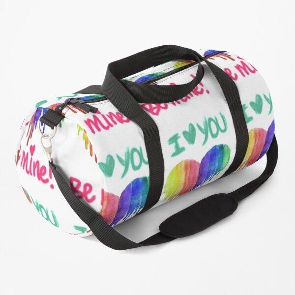 I love you be mine Duffle Bag