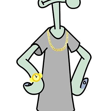 Squidward Tentacles Flexin' Hard by jaelee34